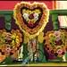 Three Flower Hearts-1=