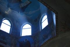_DSC4613 (Aris_Totel) Tags: orthodoxy church architecture faith people saint light sunray window monastery chapel kirk father