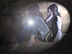 spirit (Tympany) Tags: alone orbs spirit haunt jeans genus monso mudskin maitreya secondlife avatar