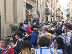 Cefalu Festival (ronindunedin) Tags: italy sicily mediterranean island mafia europe cefalu