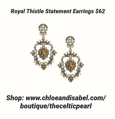 Today's Featured Item: Royal Thistle Statement Earrings $62 Shop: https://www.chloeandisabel.com/boutique/thecelticpearl/products/E533MBG/royal-thistle-statement-earrings  For the royal treatment, top off your look in this vintage-inspired pair. With touc (thecelticpearl) Tags: trending new trend buy lifetime product denimblue daily trendy antique trends pearl shopping earrings jewelry glass boutique cream celtic resin dustyrose fall style love swarovski denim shop smokedtopaz crystal featured scotland guarantee olivine chloeandisabel royal gold inspired topaz crystals accessories clear thecelticpearl thistle blue ootd candi fall2k18 swarovskicrystal online rose fashion