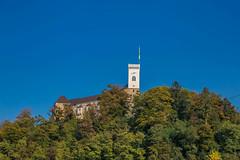 Old town in Ljubljana, Slovenia