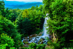2015.07.19.0096 Falling Spring Falls (Brunswick Forge) Tags: 2015 virginia grouped sky air summer mountains tree trees outdoor outdoors water nature