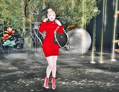 [satus Inc] Reyna Jumper Dress (❀✿ Kate ✿❀ !cream spaghetti hair!) Tags: satusinc promo gacha event fashion