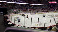 Solar Bears Game (heytampa) Tags: amwaycenter hockey solarbears conner paxton hey cheryl fitzpatrick arena