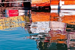 Phantasm series. (RKAMARI) Tags: 2016 cities mersin abstraction color marina phantasm reflections sea water flickrsbest