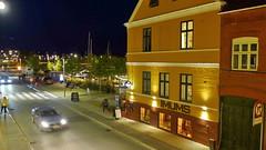 Hotel Gammel Havn in Fredericia 31.8.2018 2844 (orangevolvobusdriver4u) Tags: archiv2018 2018 dänemark denmark danmark fredericia jylland jütland hotel gammel havn hotelgammelhavn gammelhavn roadtrip road strasse night nacht