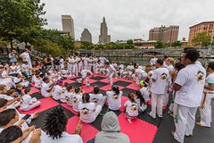 2018-9-8 Grupo Ondas capoeira batizado, graduation at WaterFire (Photograph by Matthew Huang) (3)