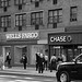 Chase and Wells Fargo (B+W)