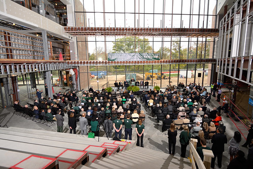Business Pavilion Ceremony and Reception, October 2018