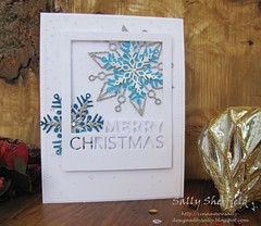 snowflakes (2) (sally_sherfield) Tags: sssflickrchallenge109 simonsays christmas snowflakes diecut