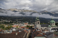 Cathedral of St. James (noname_clark) Tags: austria vacation europe innsbruck stadtturm citytower top cathedralofstjames domzustjakob