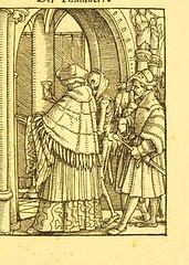 This image is taken from Page 33 of Der Todtentanz von H. Holbein, nach dem Exemplare der ersten Ausgabe im Kgl. Kupferstich-Cabinet zu Berlin in Lichtdruck nachgebildet (Medical Heritage Library, Inc.) Tags: dance death rcplondon ukmhl medicalheritagelibrary europeanlibraries date1879 idb22651263
