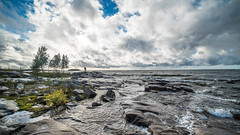 Stormchaser (Mika Lehtinen) Tags: wind clouds sunlight september cold windy flow waves nikon d750 samyang fall autumn