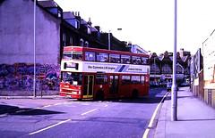 Slide 122-45 (Steve Guess) Tags: croydon surrey greater london england gb uk bus transport mcw metrobus cummins advert engine l10 m1104 b104wul