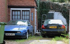 N434 XFL & P359 WGC (Nivek.Old.Gold) Tags: 1996 fiat coupe 16v turbo 1995cc 1997 ford mondeo 20 si 5door