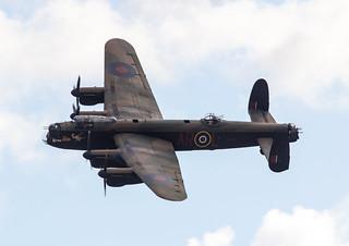 EGSU - Avro Lancaster - Royal Air Force - PA474