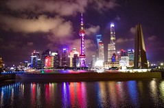 Shanghai, the Bund (werner boehm *) Tags: wernerboehm china shanghai macao hongkong peking thegreatwall chinesischemauerbundvenetioncasinodie verbotene stadtkaiserpalastred theaterjade buddha