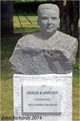 Granite Bust. Jorge Kappuhn. (john.richards1) Tags: villa general belgrano cordoba argentina granite bust jorge kappuhn nikon d80 sigma