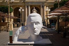 ein Politiker? (Werner Schnell Images (2.stream)) Tags: ws skulptur sculpture valletta malta