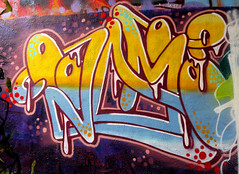 graffiti in Amsterdam (wojofoto) Tags: amsterdam nederland netherland holland graffiti streetart amsterdamsebrug flevopark halloffame hof wojofoto wolfgangjosten voodoom