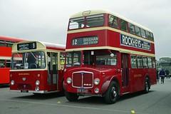 DONNINGTON 300918 9RDV & EOD524D (SIMON A W BEESTON) Tags: showbus donnington 9 devongeneral marshall aec reliance 9rdv 524 weymann regent eod524d