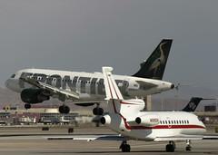 N908FR_A319-111__7649 (Mike Head -Jetwashphotos) Tags: airbus a319 a319111 f9 fft frontier dassault falcon900 las klas mccarranairport nv nevada us usa america