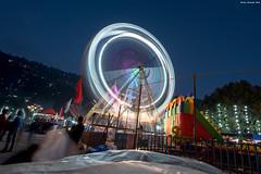 Ferris wheel Nainital (Filip_jel) Tags: india travel himalayas night nightphoto ferriswheel party celebration