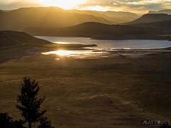 IMGP4636-Edit (Matt_Burt) Tags: bluemesareservoir bigmesa clouds lake reflection sunset