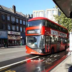 Turned | Abellio London LT706 LTZ1706 | 3 to Brixton, Morval Road (Unorm001) Tags: lt 706 lt706 ltz 1706 3 red london double deck decks decker deckers buses bus routes route diesel hybrid electric dieselelectric battery batteryelectric hybridelectric