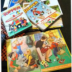 UK Topper Book annuals from 1967, '68 (jasoux) Tags: books vintagebook topper book illustration artwork childrensbook vintagebooks comic comicbook cartoon