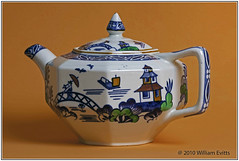 A Family Teapot from the 1800's. (Bill E2011) Tags: antique teapot history old china drink beverage beauty canon