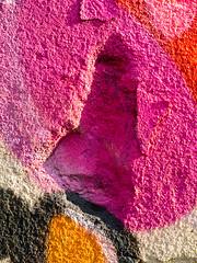 20140718-16 (sulamith.sallmann) Tags: abstract abstrakt architecture architektonisch art background backgrounds culture graffiti hintergrund hintergründe hole kunst kunstimöffentlichenraum kunstwerk loch oberfläche pink streetart surfaces textur texture texturen wall wallpaper wand sulamithsallmann