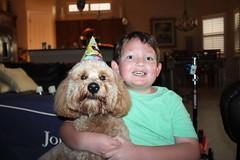 Squishy the birthday boy