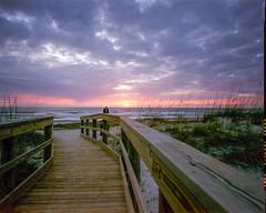 Sunrise at Amelia Island – Porta 160NC (magnus.joensson) Tags: usa american florida beach sunrise wanderlust cameras travelwide 90 schneider angulon 90mm kodak porta 160ns exp large format 4x5 c41 epson v800 scan visitusa 81a