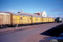 3765 Z495  Z529  Z542  Z478  Z520 Geraldton Railway Station 5 June 1983 (RailWA) Tags: railwa philmelling westrail geraldton 1983 z495 z529 z542 z478 z520 railway station