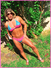 7/21/16 Blue & Pink Bikini (Trans-Amee (CD)) Tags: transamee transgender trans me sexylegs sexyass sexybody sexyswimsuit sexybikini sexycd sissy sissyinswimsuit sissyamee