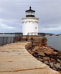 Walkway to Bug Light_Portland Me (31images) Tags: portlandmaine buglightpark lighthouse headlight buglight