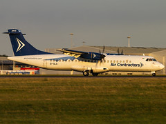 Air Contractors | ATR 72-202(F) | EI-SLG (Bradley's Aviation Photography) Tags: egss stn stansted stanstedairport londonstanstedairport canon70d aircraft essex air aviation plane planespotting avgeek aviationphotography atr72 aircontractors atr72202f eislg asl