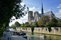 All a bit romantic (Cecilia Mussoni) Tags: romantic love paris france painting photo photographer photography landscape view river nature travel trip travelling nikon streetphotography sky water tree notredame summer