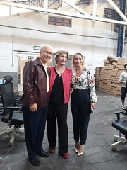 27/09/18 - Visita à empresa Tok Plat Metal. Com o dono Valter Bassani, Geinla e funcionários.