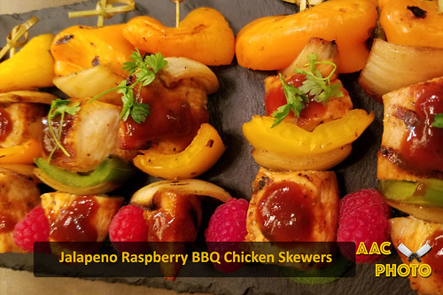 """BBQ Chicken skewers • <a style=""""font-size:0.8em;"""" href=""""http://www.flickr.com/photos/159796538@N03/31210132268/"""" target=""""_blank"""">View on Flickr</a>"""