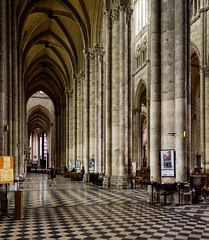 _DSC4606-2 (durr-architect) Tags: cathedral notre dame amiens gothic church historic city lightness airiness interior decoration tower arch portal gallery rose window organ unesco world heritage site
