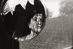 Mom (bondarenko.lzvt) Tags: bw kodak retinaiii film mother blackandwhite portret shadows lace sun dreamy contrast atmosphere filmphotography 35mm kadakretina mirror reflection