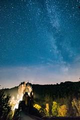 Milchstraße über der Burg Eltz (clemensgilles) Tags: eifel germany nacht astrophotography longexposure