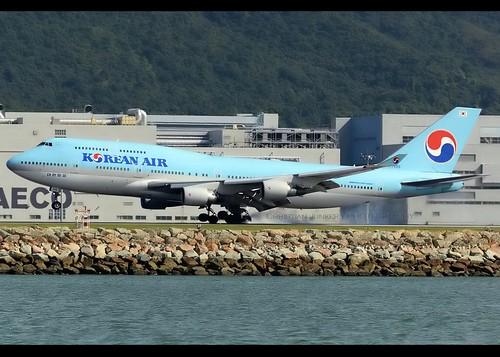 B747-4B5   Korean Air   HL7498   HKG