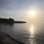 Morning sun over the Baltic Sea near Hesnæs (Falster/Denmark) thumbnail