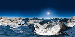 Winter in Summer (luvi) Tags: neve snow trecime lavaredo dolomiti dolomythes pano aerial dji mavic drone