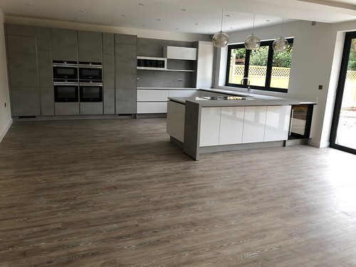 Amtico Spacia and Sensations saxony in a new build in St Albans