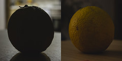 La misma naranja (robertosanchezsantos) Tags: madrid españa spain europa europe viaje travel arte art abstracto abstract ciudad city noche night urbano urban naranja orange fruit fruta